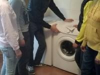 washing machine +kids