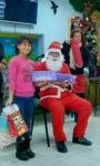 Santa +girl