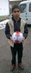 Момче с топка