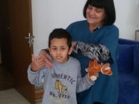 Botevgrad Baba Yonka with a boy