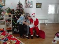 Boy + Santa