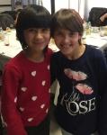 Happy 2 girls