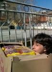 Dupnitsa - a girl with Easter bread