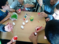 Mezdra Coloring eggs 2