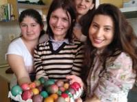 Star of hope Girls + eggs -