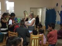 Roman Children distributing begs