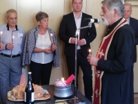 Mayor, Sokolova Pascal and the priest