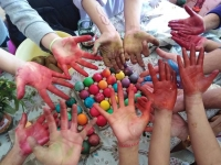 Coloring hands 1 1