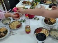 Stara Zagora cnst table - eggs knocking