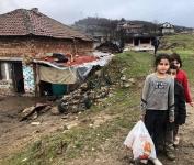 Mezdra - poor children