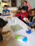 Botevgrad Elder guys coloring eggs 1