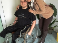 Mezdra - Albi+disabled boy