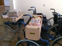 Botevgrad - wheelchairs +bread