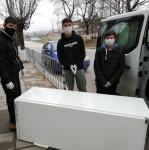 12ROMAN freezer + 3 boys