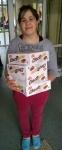 Girl with chocolates