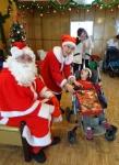 Pleven St.Clause + kid in wheel chair