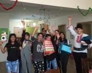 Samokov Happy kids with presents