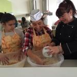 A Samokov Making Easter bread