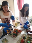 Star of Hope - coloring eggs