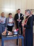 Mayor, Sokolova Pascal and the priest