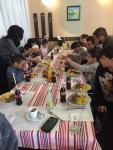 ROMAN 2 - party eating - Irish