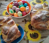 Star of hope - Easer bread and eggs 1