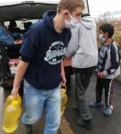 Dupnitsa A boy with oil