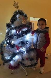 Christmas tree + Kris