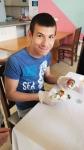 Botevgrad A boy coloring egg 1