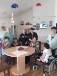 Botevgrad Guys in invalid chairs + eggs 1