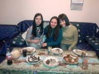 Star of hope - girls eating