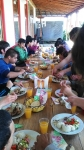 GS Kids enjoying Easter diner