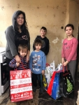 20Kids with presents and food